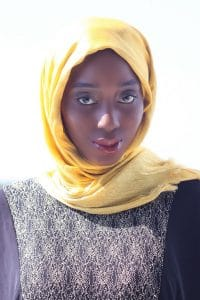 Marine Corps spouse Aminat Odunewu-Seese is the founder and owner of Striving For Modesty. Striving For Modesty is an online curated modest clothing boutique.