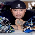 Air Force Spouse Designs Portable Career As A World Class Goalie Mask Artist
