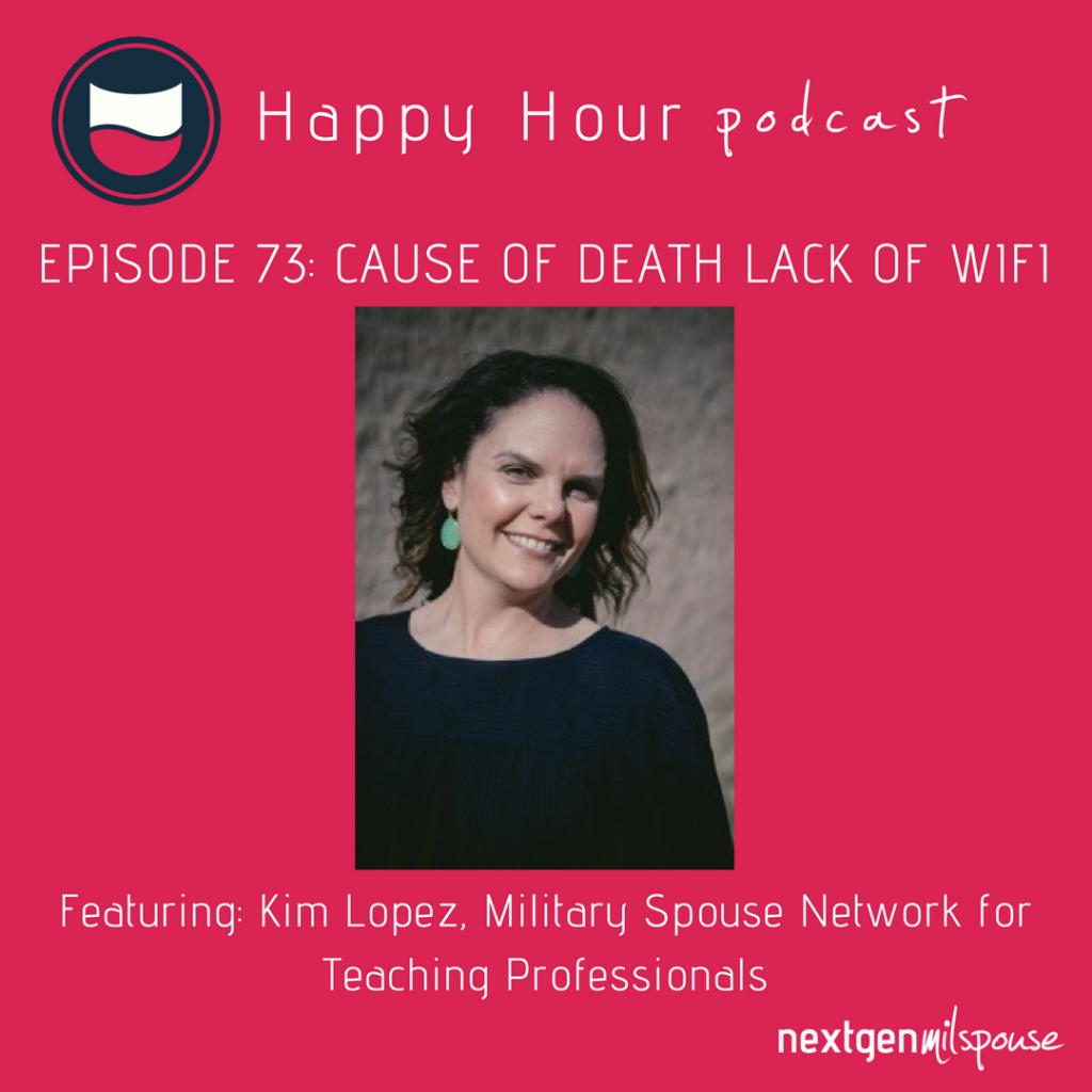 Kim Lopez launched the Military Spouse Network for Teaching Professionals to help fellow educators navigate state licensure issues, find jobs and network within the military spouse educator community.