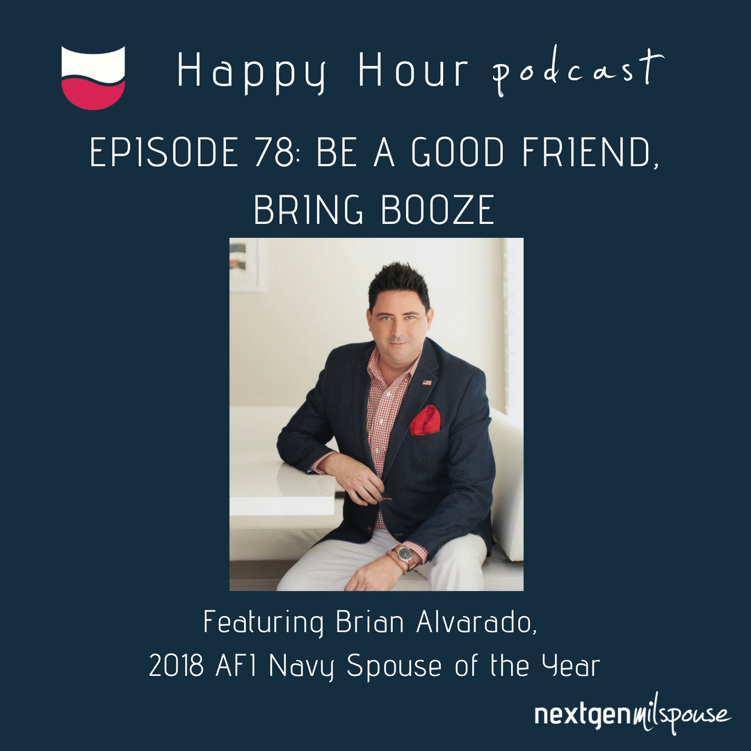 2018 AFI Navy Spouse of the Year Brian Alvarado tells us why he's passionate about military spouse employment and the best way to celebrate military spouses
