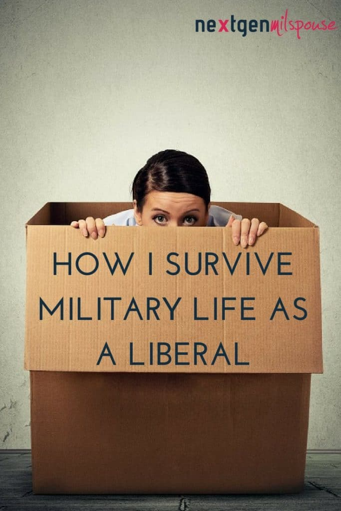 How I Survive Military Life As A Liberal