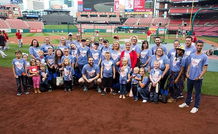 Veterans United Hosts 'Military Kids Day At The Ballpark' for National Guard Families