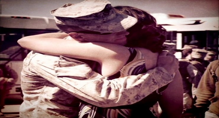 To the Military Spouse on the Last Day of Your Service Member's Deployment