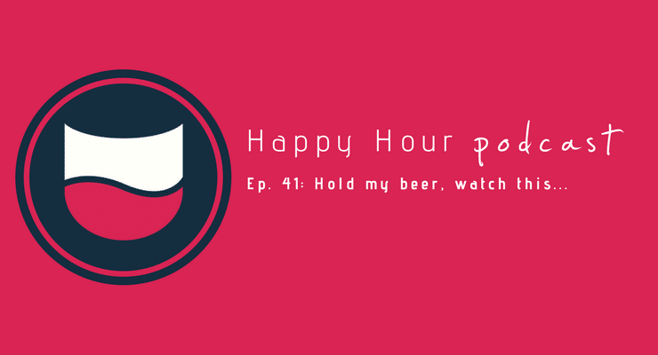This week's Happy Hour podcast crew discusses stumbling into a job you love and where Amy is at on the Maxine Waters' scale.