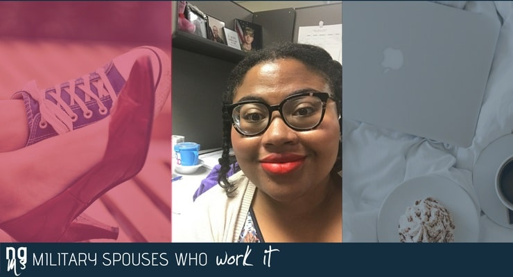 DeJa Clift is a juvenile justice specialist and a National Guard spouse.