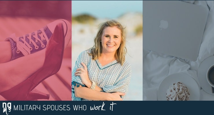Delanie Schulze is the director of revenue management for Wyndham Vacation Rentals. She works from home and at a co-working office.