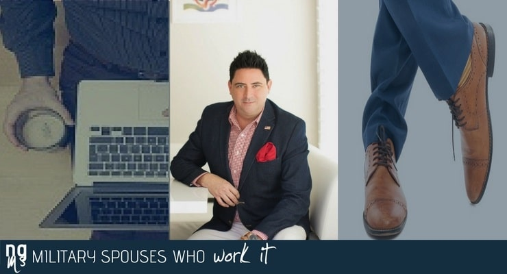 Navy spouse Brian Alvarado is vice president of marketing and a realtor at Dwell Well Reality.