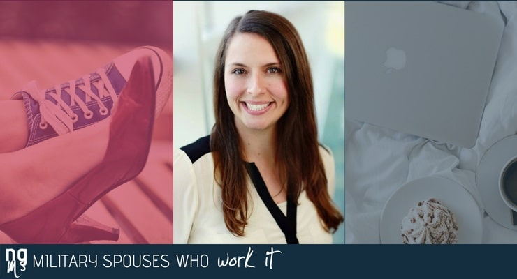 Jen Jones got her job through a mixture of luck, experience, and some excellent resources from Hiring Our Heroes particularly their AMPLIFY session.