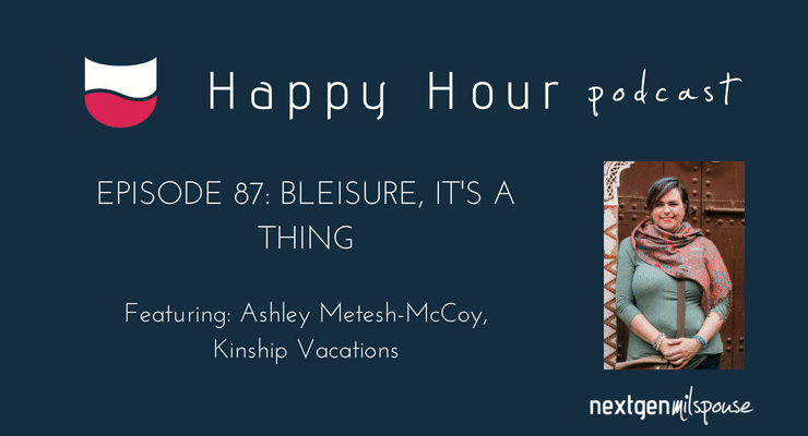 This week we welcome Ashley Metesh-McCoy, owner of Kinship Vacations. Ashley tells us why being a travel agent is a portable career for military spouses.